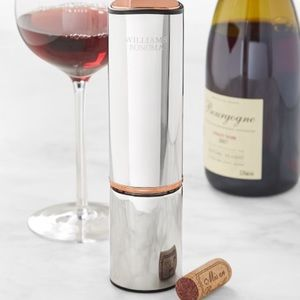 William Sonoma Electric Wine Opener + Wine Cutter